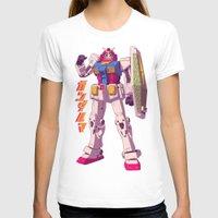 gundam T-shirts featuring Gundaruma by Mike Wrobel