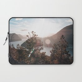 View of the Lago Lacar Laptop Sleeve