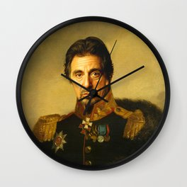 Al Pacino -replaceface Wall Clock