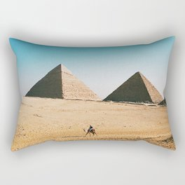 The Great Pyramid / Giza, Egypt Rectangular Pillow