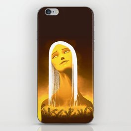 Luminescent Gold iPhone Skin