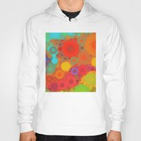 circles Hoodies featuring Circles by Mr and Mrs Quirynen