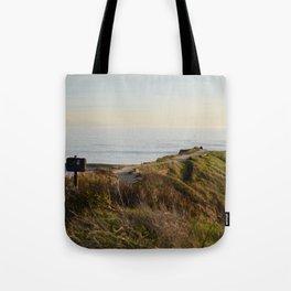 West Cliff, Santa Cruz Tote Bag