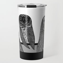 THREE OWLS Travel Mug