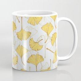 Ginkgo Pattern Coffee Mug