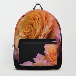 Orange Free Spirit Roses Backpack
