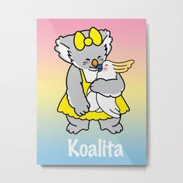 Koalita and friend Metal Print
