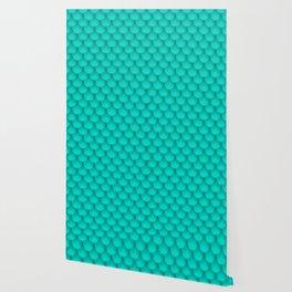 Blue fish scales Wallpaper