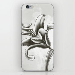 Fleur de lys iPhone Skin