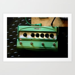 Green Delay Art Print