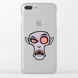 Count Dracula Clear iPhone Case