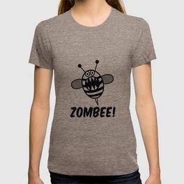 Funny Zombee, Zombie Tee-shirt, Bee T-Shirt T-shirt