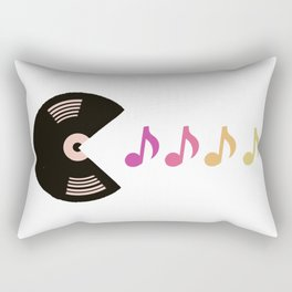 Hungry For Music  Rectangular Pillow