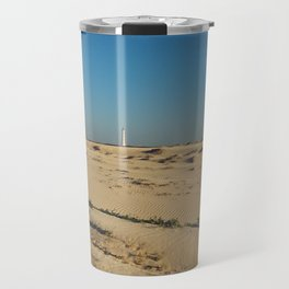 The California Lighthouse, Aruba Travel Mug