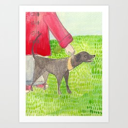 My Dog Art Print