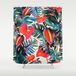 Floresta Exótica Shower Curtain