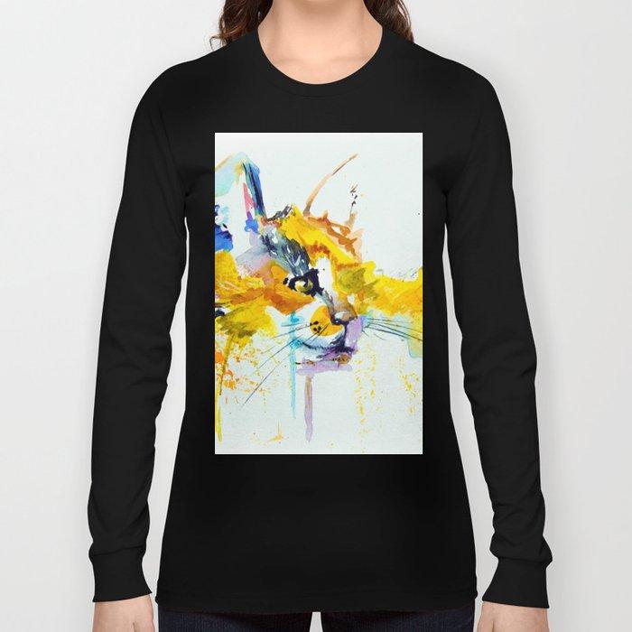 bright cat Long Sleeve T-shirt