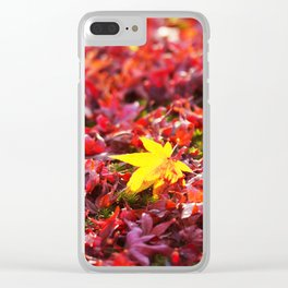 Color of Fall Clear iPhone Case