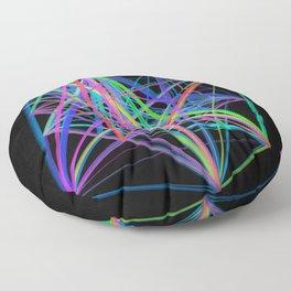 Colorful Rainbow Prism Floor Pillow
