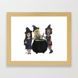 Witch, Please (Version 2) Framed Art Print