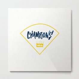 Champions - Diamond Metal Print