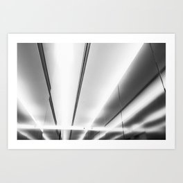 Lighting at Emquartier BKK Art Print