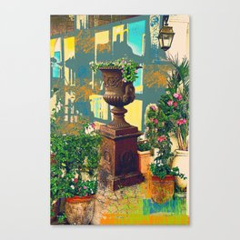 Urban TLV Canvas Print