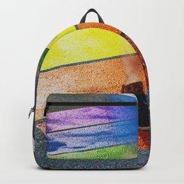Rainbow Crosswalk Backpack
