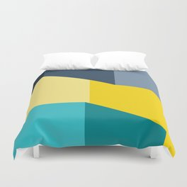 Almost Perfect- Simple Shapes Duvet Cover