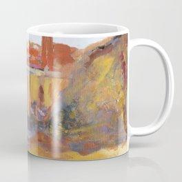 Toledo, Impressionist landscape, Spanish town, bridge Coffee Mug