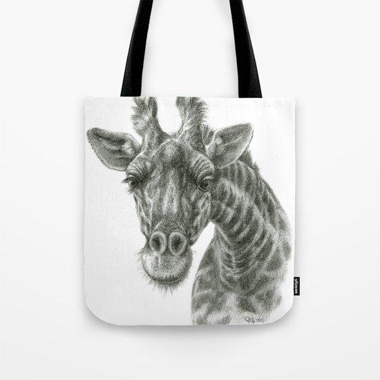 The giraffe G2012-049 Tote Bag