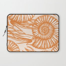 AMMONITE COLLECTION ORANGE Laptop Sleeve