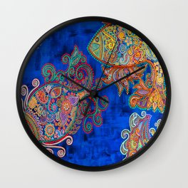 The Water Angels Wall Clock