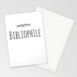 Bibliophile Stationery Cards