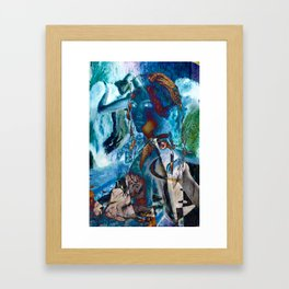Torn Framed Art Print