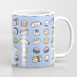 Happy kawaii sushi pattern Coffee Mug