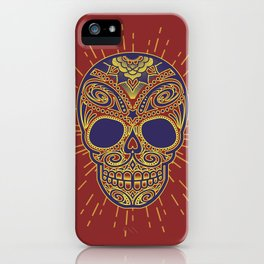 Golden catrina iPhone Case