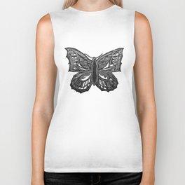The Beauty in You - Butterfly #2 #drawing #decor #art #society6 Biker Tank