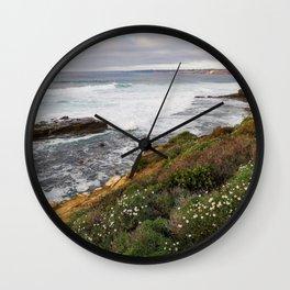 La Jolla Coast Wall Clock