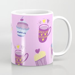 Delicious love - Valentine's Day pattern Coffee Mug