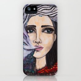 Exhale the Galaxy iPhone Case