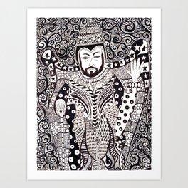 Bornay at Gloria Hotel Art Print