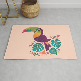 Tropical Toucan 2 Rug