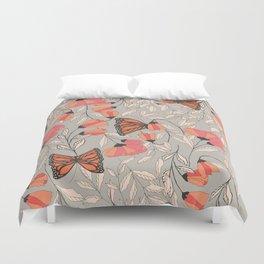 Monarch garden 001 Duvet Cover