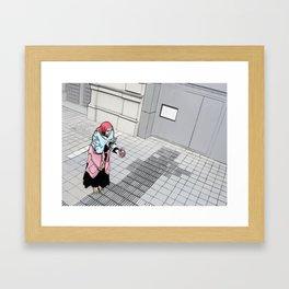 The Rich Beggar Framed Art Print