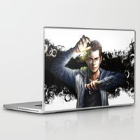 stiles stilinski Laptop & iPad Skins featuring Void Stiles by Hosio