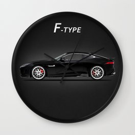 The F-Type Wall Clock