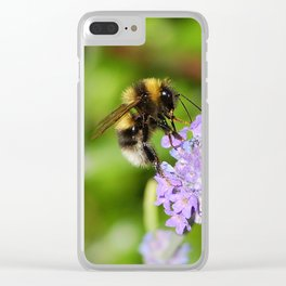 Busy bee Clear iPhone Case