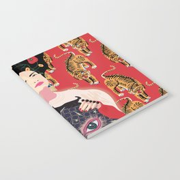 Let your mind blossom - Fashion portrait Notebook