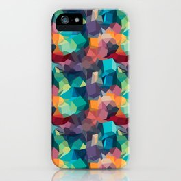 Abstract Colorful Pattern iPhone Case
